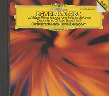 MAURICE RAVEL BOLERO CD Daniel Barenboim DEUTCHE GRAMMOPHON DIGITAL