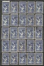 "25 STEEL INDUSTRY ""American Eagle""  #1090 Used US 1957 Commemorative 3c Stamps"