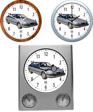 Wall Clock with Car Motive: CAR BRAND M Part 1/5 - 3 Different Watch Models Car