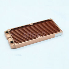 Water Cooling Radiator 240mm Whole pure Copper G1/4 for PC Linquid Water Cooling
