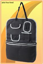 Auto Spielzeugtasche Rückenlehnenschutz Sitzschutz schwarz inkl. Kühltasche NEU