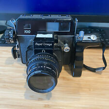 Konica Omega Rapid 100 with 90mm lens