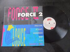 FORCE 2 1992 LP (TECHNO, BELGIAN, PRAGA KAHN, MENG SYNDICATE, QUADROPHONIA)