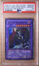 2006 Yu-Gi-Oh Elemental Hero Dark Neos Ultra Rare Holo PSA 10 1st Ed POTD-EN033