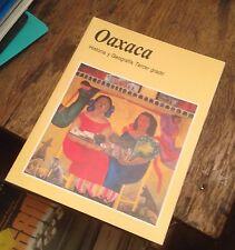 OAXACA Historia y Geografia TERCER GRADO 2002 SPANISH Free US Shipping MEXICO