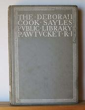 The Deborah Cook Sayles Public Library Pawtucket RI 1902 Building Dedication