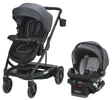 Graco Baby UNO2DUO Travel System Stroller with SnugLock 35 Infant Car Seat Reese