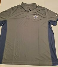 Nike Dallas Cowboys Dri Fit Polo Mens Size 3XL