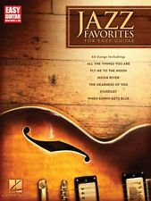Jazz Favorites for Easy Guitar Sheet Music Easy Guitar Notes and TAB 000702275