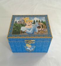 "DISNEY PARKS PRINCESS CINDERELLA MUSICAL JEWELRY BOX ""SO THIS IS LOVE"" - NEW!"