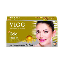 Vlcc Gold radiance Facial Kit *6 step* for luminious and radiant complexion 60gm