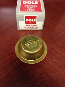 NORS THERMOSTAT 1949-1959 DODGE PLYMOUTH FORD HUDSON NASH RAMBLER 180` DV2H