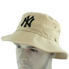 New York Yankees NY 47 Brand Bucket Hat Mens Cotton Cap Unisex One Size OSFA