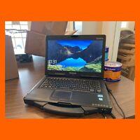 "Panasonic Toughbook CF-53 MK4 i5-4310U 14"" Touch 8GB 128GB GPS WEBCAM Win10pro"