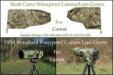 For Canon Camera/Lens Covers Waterproof Multi Camo & DPM Woodland 6 models