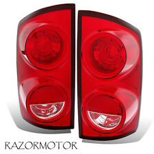 2007-2008/2009 Replacement Tail light Housing For Dodge RAM 1500/2500, 3500 Pair