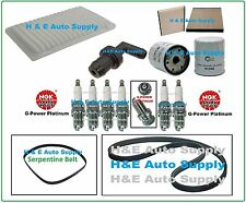 02-06 ES300 CAMRY SIENNA SOLARA TUNE UP KITS: PLUGS BELTS AIR CABIN & OIL FILTER