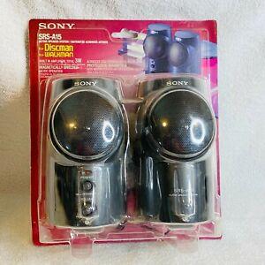 Vintage Sony Active Speaker System SRS-A15 New Sealed For Discman or Walkman NOS
