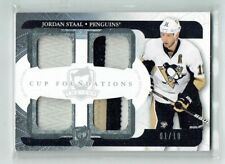 11-12 UD The Cup Foundations  Jordan Staal  1/10  First Card  Quad Patches