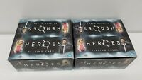 2 box of 2007 Heroes Series 1 Trading Card HOBBY Box [24 Packs]  - Open Box