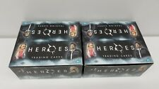 2 box of 2007 Heroes Series 1 Trading Card HOBBY Box [24 Packs]  - Open Box