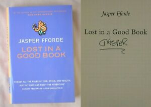 Signed 1st UK Ed LOST IN A GOOD BOOK Jasper Fforde HARDCOVER TUESDAY NEXT BOOK