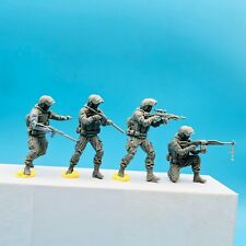 LZModel F35016 1/35 Resin Figure Russia Alpha Special Forces 4 Figures