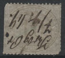 Germany - 1872, 10g Handwritten Cancellation stamp - Used - SG 14B (cat. £250)