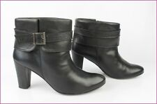 Boots loops CHANDRA et You Black Leather T 39 TBE