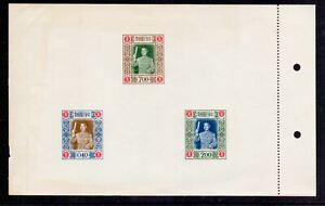 TAIWAN 1955 BIRTHDAY M/SHEET NH UNUSED (SEE DESCRIPTION)