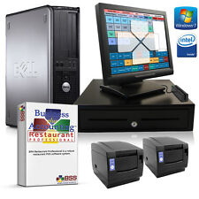 DELL Restaurant TOUCHSCREEN POS System W PRINTERS