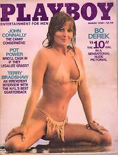 March 1980 Playboy Bo Derek All That Jazz Henrietta Allais John Connally