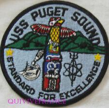 PUS494 - US NAVY SHIP  USS PUGET SOUND  AD-38
