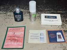 Lot of 6 Assorted Travel Sample Products Physique Gillette L'Occitane Neutrogena