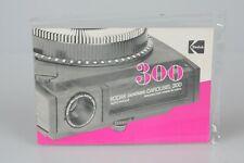 ORIGINAL Kodak Pocket Carousel 300 Slide Projector Instruction Manual