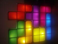 TETRIS LED STACKABLE LIGHT MULTICOLOR NO BOX