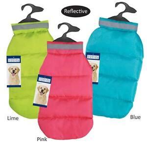 CC North Paw Vibrant Puffy Dog Vest Coat Jacket Reflective Repellent MISC SIZES