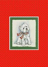 "Westie Christmas Cards ""Merry and Bright"" by Borgo"