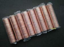 ⭐ 8 rolls of Canadian pennies MINT SEALED 2001, 2010, 2011, 2012