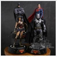 DC COMICS Super Hero Batman / Wonder Woman / Superman Statue with LED Figure