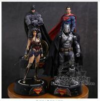 DC COMICS Super Hero Batman / Wonder Woman / Superman Statue with LED Figure