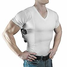 Concealment Clothes Men's V-Neck Undercover- Concealed Gun Carry Holster Shirt
