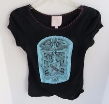 Women's Romeo & Juliet Shirt by Couture - Black, size S