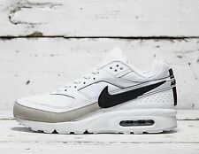 Nike Air Max Classics BW Premium White Trainers - Size 10 - VINTAGE LE