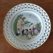 "Bing & Grondahl- 8793-638 Grimm's Fairy Tales Series ""Snow White� Pierced Plate"