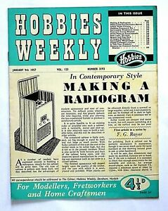 HOBBIES WEEKLY - 9th JANUARY 1957 (9 - 15 Jan) RARE 65th BIRTHDAY GIFT !!..beano