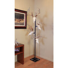 SKULL HOOKER TTASSYBLK  TROPHY TREE W/ 5 BRACKETS CUSTOMIZABLE DISPLAY