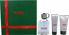 Coffret HUGO BOSS MAN HOMME LA GOURDE 150ml eau de toilette + 50mlgel + 75ml AS