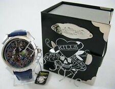 Ed Hardy Men's Watch Revolution BLUE PANTHER RE-PT0225