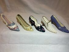 Collectible Miniature Shoes Lot Of 5